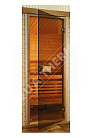 Дверь для сауны Тонированное стекло 8 мм, 69 х 184 см - бронза