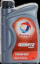 Моторное масло TOTAL QUARTZ 5000 15W-40 1L