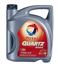 Моторное масло TOTAL QUARTZ 5000 15W-40 5L