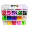 Комплект для плетения браслетов (4200 резинок)