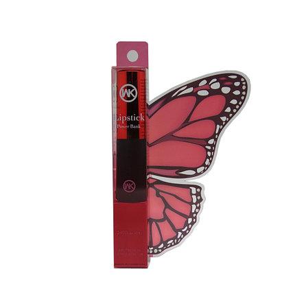 Внешний аккумулятор Power Bank WK WP004 Lipstick 2400 Mah Red, фото 2