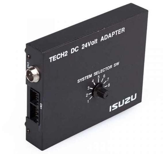 N00123 Isuzu 24v Tech2 адаптер тип I