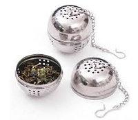 Шарик для заваривания чая в чашечке на цепочке