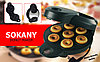 Прибор для приготовления пончиков Donut Maker (Пончик Мейкер) Sokany