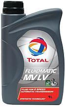 Трансмиссионное масло для АКПП TOTAL FLUIDMATIC MV LV 1L