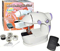 Мини швейная машинка для вышивания 4 в 1 с блоком питания (Mini Sewing Mashine)