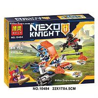 "Конструктор BELA серии ""Nexo knight/рыцари нексо"" - ""Королевский боевой бластер"" 88 деталей"