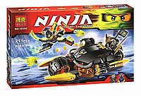 "Конструктор BELA серии ""Ninja/ниндзяго"" - ""Бластер-байк Коула"" 211 деталей"