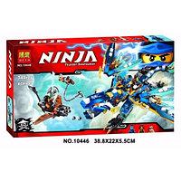 "Конструктор BELA серии ""Ninja/ниндзяго"" - ""Дракон стихий Джея"" 349 деталей"