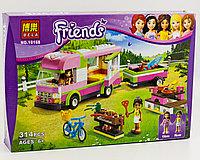 """Конструктор BELA серии """"Friends/друзья"""" - """"Оливия и домик на колёсах"""" 314 деталей"""