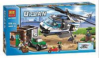 """Конструктор BELA серии """"Urban/город"""" - """"Вертолётный патруль"""" 528 деталей"""