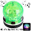 Светодиодный диско шар Symphony Speaker с мр3 проигрывателем QC-1010