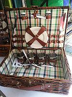 Набор посуды в чемоданчике на 4 персоны для пикника