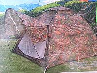 Палатка автомат с козырьком 3х местная