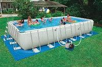 Прямоугольный каркасный бассейн Intex 28352