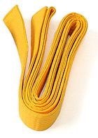 Пояс для кимоно 205 см (желтый)