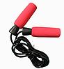 Скакалка с подшипниками 2.89 м SUNLIN (красная)