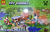 "Конструктор Bela My World (аналог Minecraft 21128 ""Деревня"") 1622 детали"