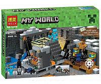 Конструктор Bela My World (аналог 21124 Minecraft) 577 деталей