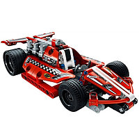 "Конструктор спортивная машина Decool ""Dazzling red racing car"" 158 деталей"