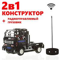 """Конструктор + радиоуправляемая машинка 2 в 1 """"Road Bad"""" 483 деталей"""
