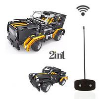"""Конструктор + радиоуправляемая машинка 2 в 1 """"Road Bad"""" (8008)""""Black Hums"""" 509 деталей"""