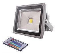 Светодиодный прожектор LED RGB с пультом, 20w