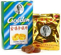 """Леденцы """"Golden Throat Lozenge"""" от кашля и боли в горле 12шт"""