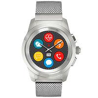 Смарт-часы MyKronoz ZeTime Elite, Regular, Brushed Silver Milanese