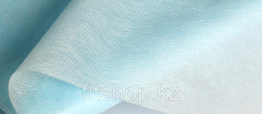 Комплект одноразовых простыней 50шт синие