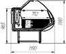 Витрина холодильная Эллада-М 1,4, фото 2