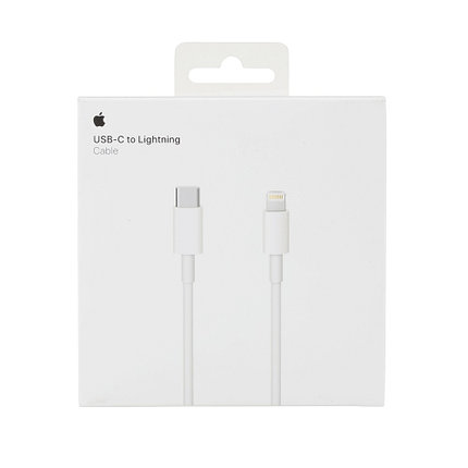 USB Кабель Apple Store USB-C to Lightning Charge Cable (1m) MKOX2AM/A, фото 2