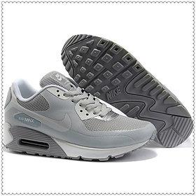 Кроссовки Nike Air Max 90 Hyperfuse серые
