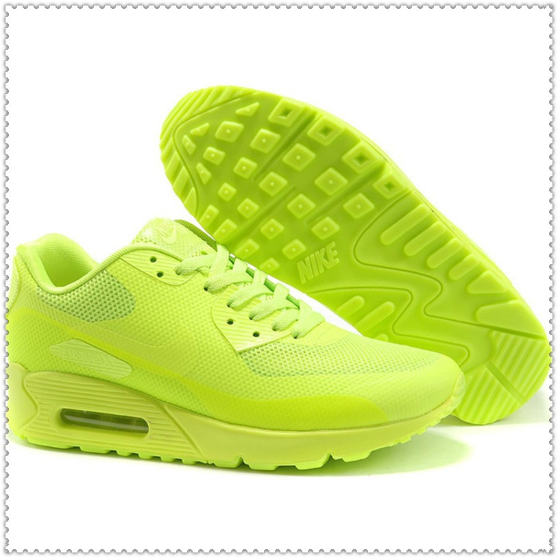 Кроссовки Nike Air Max 90 Hyperfuse PRM салатовые
