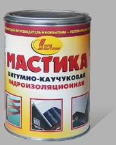 Мастика битумно-каучуковая 1л/ Новбытхим