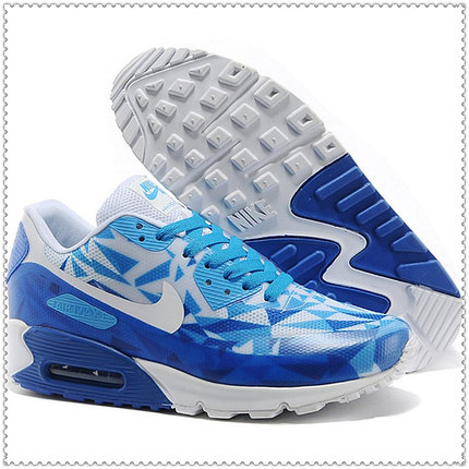 Кроссовки Nike Air Max 90 Hyperfuse PRM Blue, фото 2