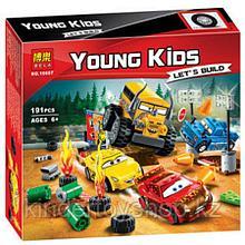 Конструктор Bela Young Kids Гонка: Сумасшедшая восьмерка 10687 (Аналог Lego Juniors 10744) 191 дет.