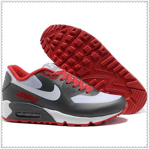 Кроссовки Nike Air Max 90 Hyperfuse бело-серые