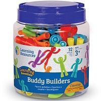 Набор фигурок «Разноцветные строители» Learning Resources, фото 1