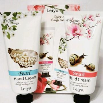 Набор кремом для рук Snail/Pearl Perfume Therapy Hand Cream (Leiya)