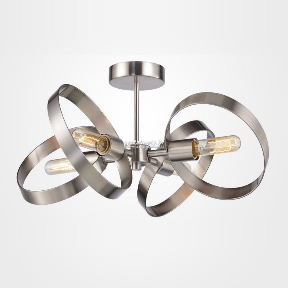Люстра на 4 лампы в современном стиле Modern Industrial