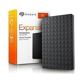 """Внешний жёсткий диск Seagate 1TB 2.5"""" Expansion Portable STEA1000400 USB 3.0 Чёрный"""
