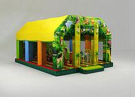 Надувной батут Джунгли с крышей, фото 1