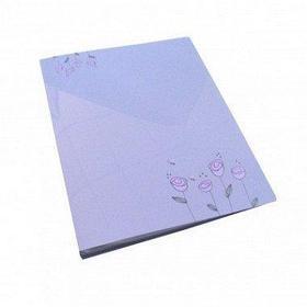 Папка с прижимным зажимом А4, 21мм, пластик