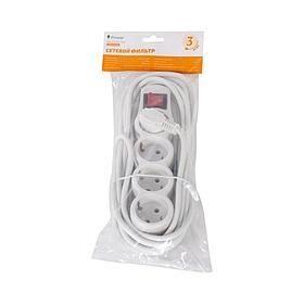 Сетевой фильтр iPower Home W4-30M 3 м. 220 в.