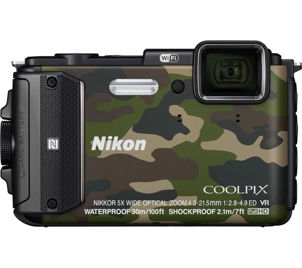 Фотоаппарат компактный Nikon COOLPIX W300 камуфляж