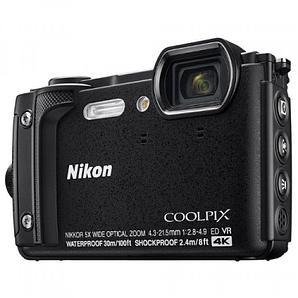 Фотоаппарат компактный Nikon COOLPIX W300 черный
