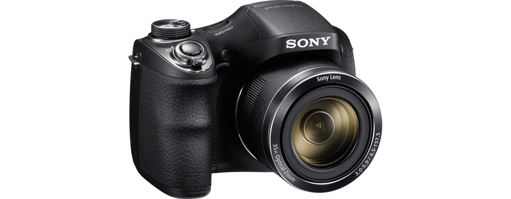 Фотоаппарат компактный Sony DSC-H300 черный