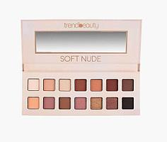 Тени для глаз Soft Nude trendbeauty 14 цветов