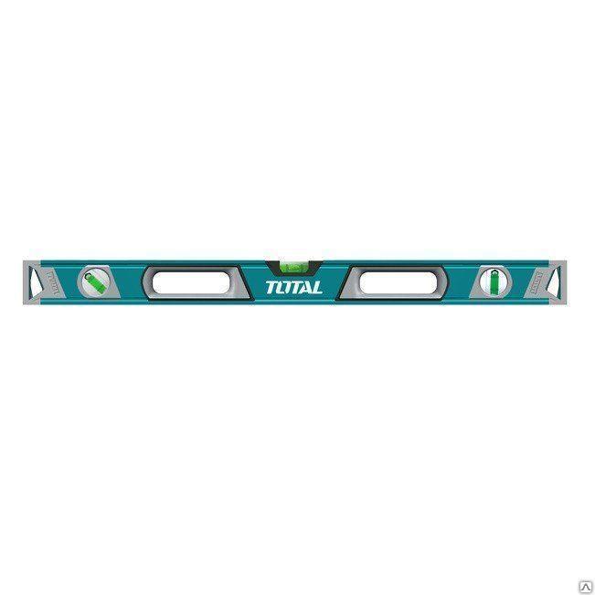 Уровень алюминиевый строительный 400 мм TOTAL TMT24016